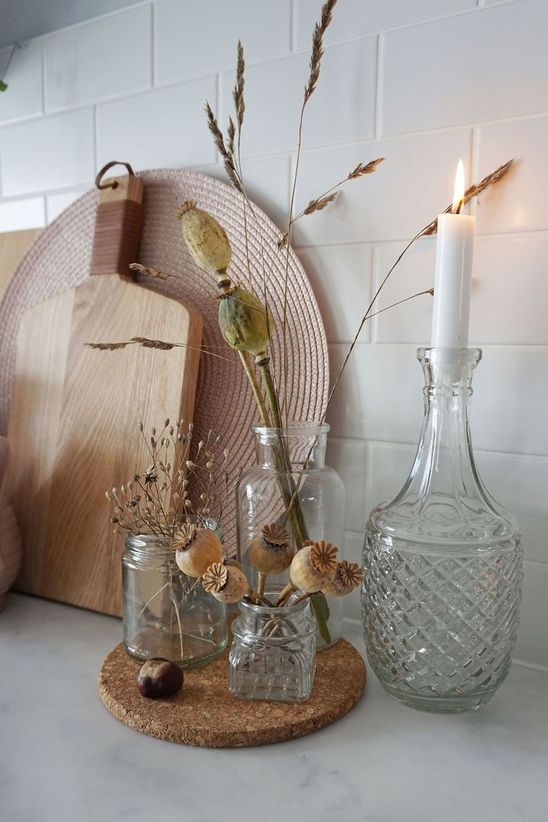 kitchen autumn styling