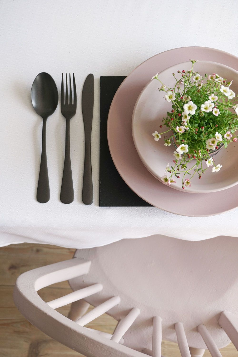 Product Styling Dining tablescape